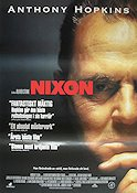 Nixon 1995 Movie poster Anthony Hopkins Oliver Stone