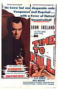 No Time To Kill 1962 poster John Ireland