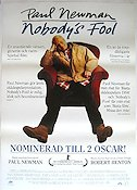 Nobody's Fool 1994 Movie poster Paul Newman