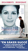 Notting Hill 1999 Movie poster Julia Roberts