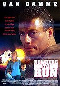Nowhere to Run 1993 Movie poster Jean-Claude van Damme