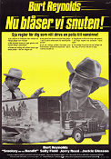 Smokey and the Bandit 1977 poster Burt Reynolds Hal Needham