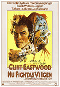 Any Which Way You Can 1980 poster Clint Eastwood Buddy Van Horn