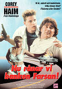 Fast Getaway 1991 Movie poster Corey Haim