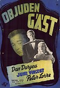 The Black Angel 1946 poster Dan Duryea
