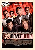 Ocean's Thirteen 2007 Movie poster George Clooney
