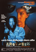 Kiss the Girls 1997 poster Morgan Freeman