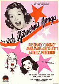 The Stars Are Singing 1953 poster Rosemary Clooney Norman Taurog
