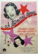 The Stars Are Singing 1954 Movie poster Rosemary Clooney