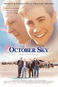 October Sky 1999 poster Jake Gyllenhaal Joe Johnston