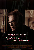True Crime 1999 poster Clint Eastwood