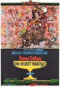 The Party 1969 Movie poster Peter Sellers Blake Edwards