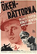 The Desert Rats 1953 poster Richard Burton