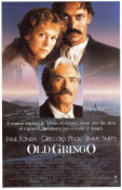 Old Gringo 1989 Movie poster Jane Fonda Luiz Puenzo