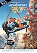 Oliver and Company 1988 Movie poster