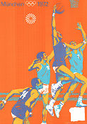 Olympic Games München Basket 1972 poster