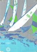 Olympic Games München Sailing 1972 poster