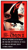 The Omen 2 Damien 1978 Movie poster William Holden