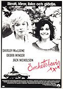 Terms of Endearment 1983 Movie poster Jack Nicholson