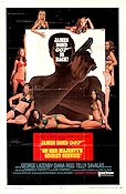 On Her Majesty's Secret Service 1970 Movie poster George Lazenby
