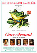 Once Around 1991 poster Richard Dreyfuss Lasse Hallström
