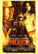Once Upon a Time in Mexico 2003 Movie poster Antonio Banderas
