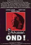 Bad 1977 Movie poster Carroll Baker Jed Johnson