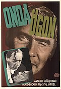 Onda ögon 1947 Movie poster Arnold Sjöstrand