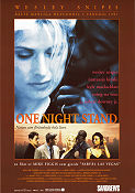 One Night Stand 1997 poster Wesley Snipes Mike Figgis