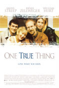 One True Thing 1998 Movie poster Meryl Streep