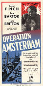 Operation Amsterdam 1959 poster Peter Finch Michael McCarthy