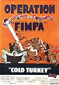 Cold Turkey 1971 poster Dick Van Dyke