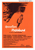 Operation Rosebud 1975 poster Peter O'Toole Otto Preminger