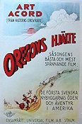 The Oregon Trail 1925 poster Art Acord