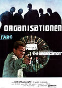 The Organization 1971 Movie poster Sidney Poitier Don Medford