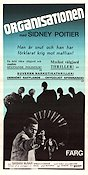 The Organization 1972 Movie poster Sidney Poitier
