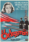 �rlogsm�n 1942 Movie poster Karl-Arne Holmsten