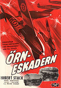 Eagle Squadron 1942 Movie poster Robert Stack Arthur Lubin