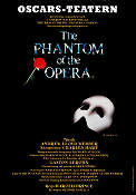 Oscarsteatern The Phantom of the Opera 1986 poster