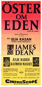 East of Eden 1955 Movie poster James Dean Elia Kazan