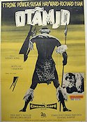 Untamed 1955 poster Tyrone Power