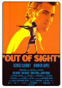 Out of Sight 1998 Movie poster George Clooney