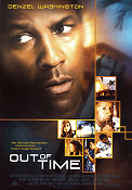 Out of Time 2003 Movie poster Denzel Washington