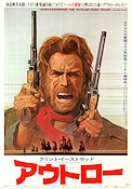 Outlaw Josey Wales 1976 Movie poster Clint Eastwood