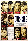 The Outsiders 1983 Movie poster Tom Cruise Francis Ford Coppola