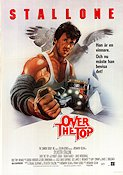 Over the Top 1986 Movie poster Sylvester Stallone