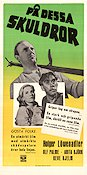 P� dessa skuldror 1948 Movie poster Holger L�wenadler