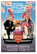 Down and Out in Beverly Hills 1986 Movie poster Nick Nolte Paul Mazursky
