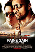 Pain and Gain 2013 poster Mark Wahlberg Michael Bay