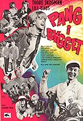 Pang i bygget 1965 Movie poster Ola and the Janglers Ragnar Frisk